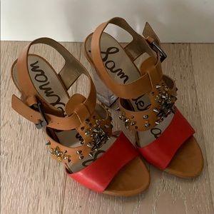 Sam Edelman Yara clear heeled sandals